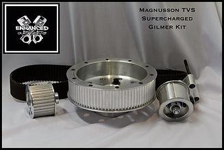 Magnuson TVS Supercharger Gilmer Kit