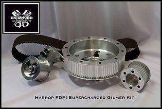 Harrop FCFI Supercharger Gilmer Kit