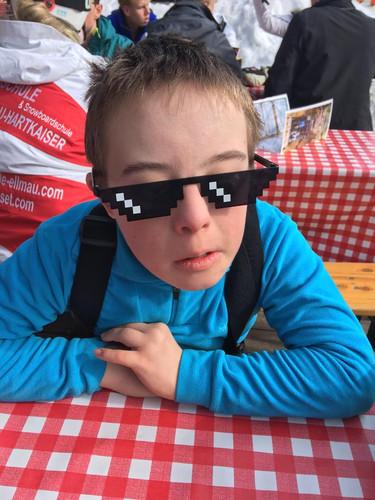 Jakob heeft een nieuwe bril