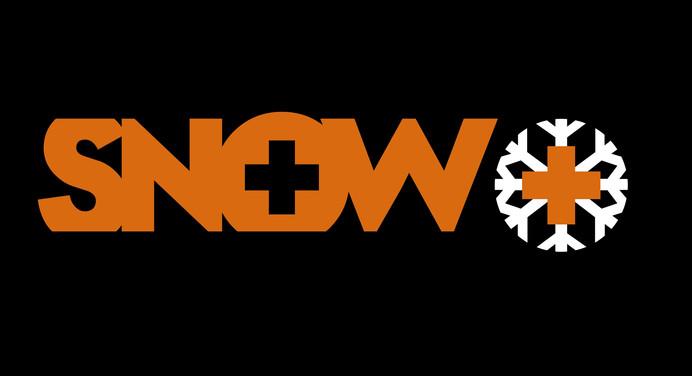 Ons naam logo met zwarte achtergrond