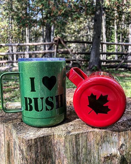 Green BUSH Mug