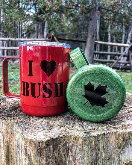 Red BUSH Mug