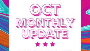 October Monthly Update 2020