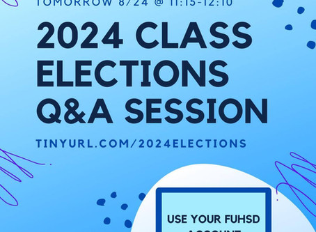 2024 Class Elections Q/A Session