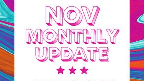 November Monthly Update 2020