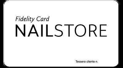 Fidelity Card Nailstore Ravenna
