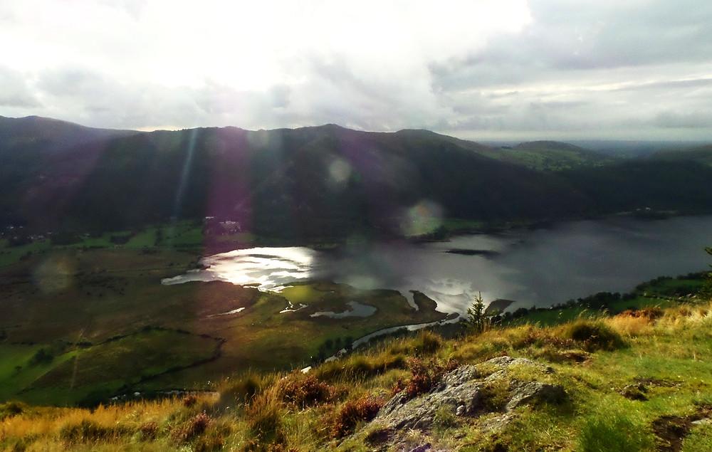 Bassenthwaite Lake in Cumbria