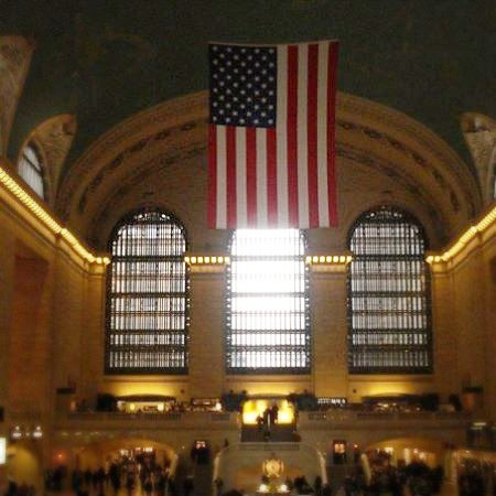 The interior of Grand Central Station NYC