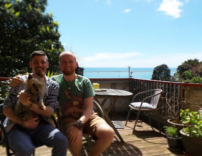 Pet-sitting in Nelson, South Island NZ, sweet old Maizie