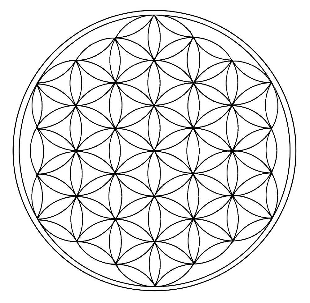 The flower of life, Scared geometry
