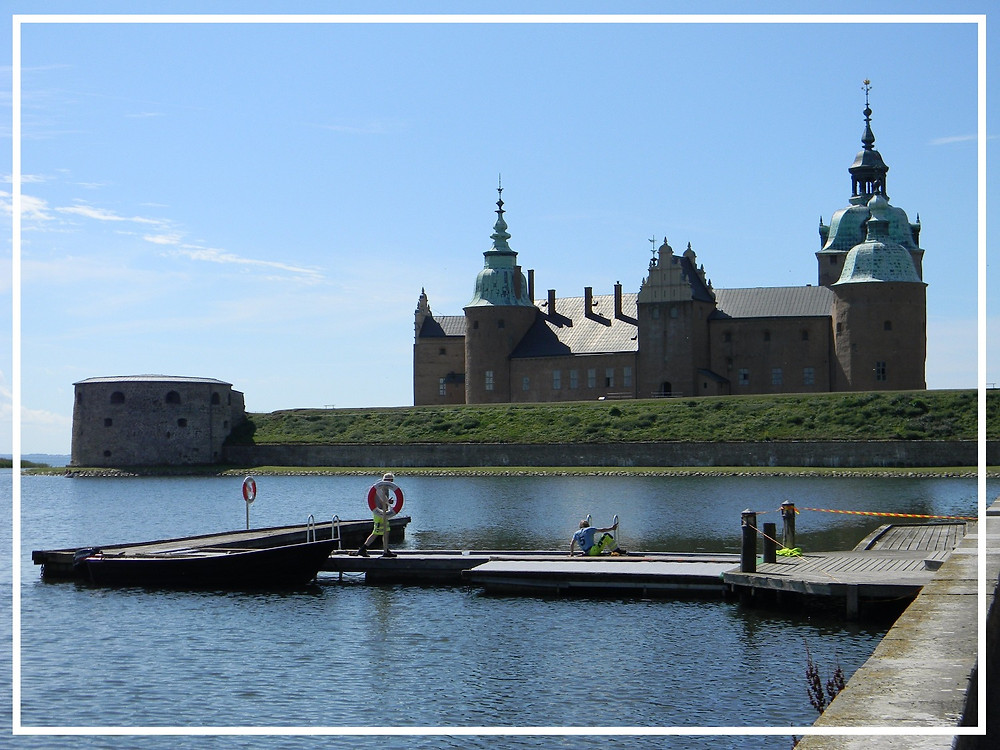 Kalmar Castle and waterfront