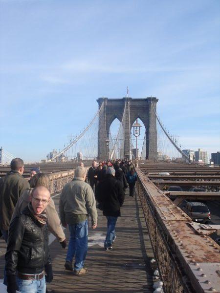 A view of Brooklyn Bridge NYC