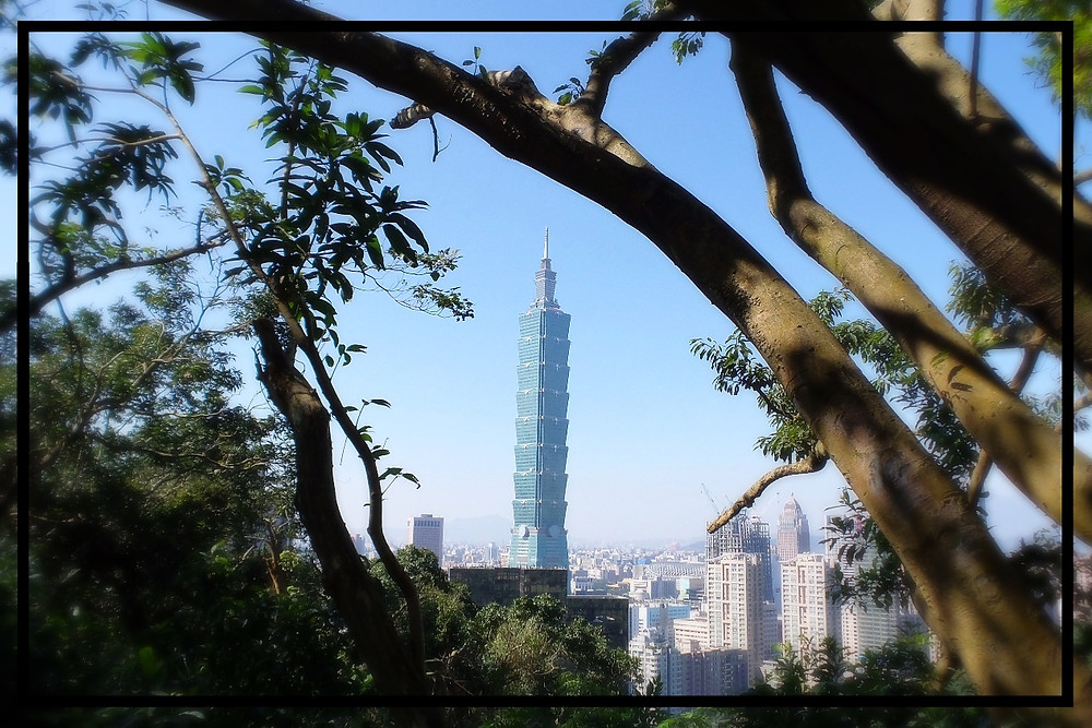 A view of Taipei 101 in Taiwan's capital city