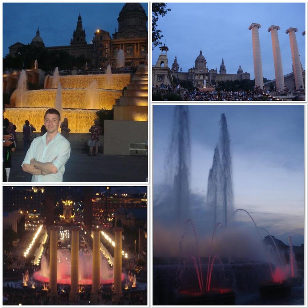 Magic Fountain at Montjuic