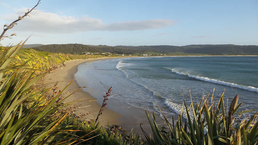 Porpoise Bay in the Catlins, South Island