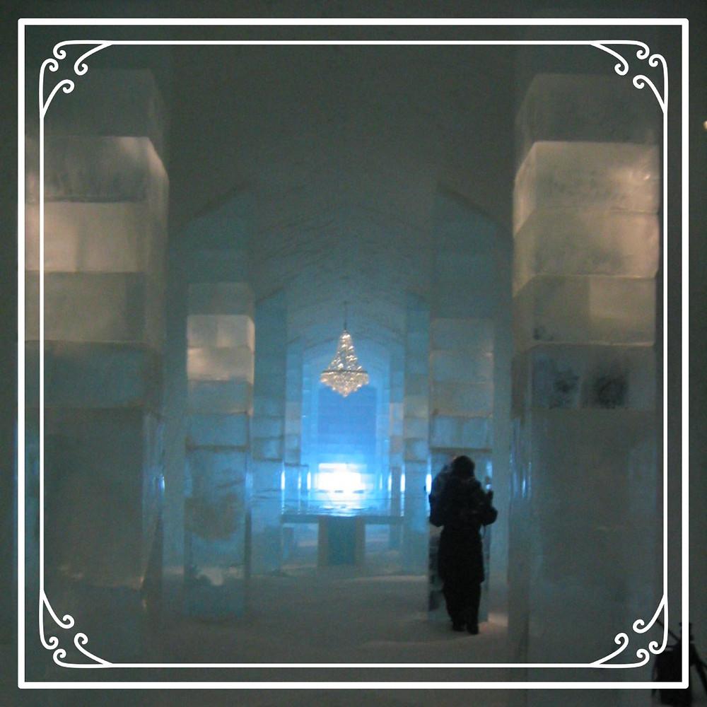Inside the Ice Hotel, Kiruna