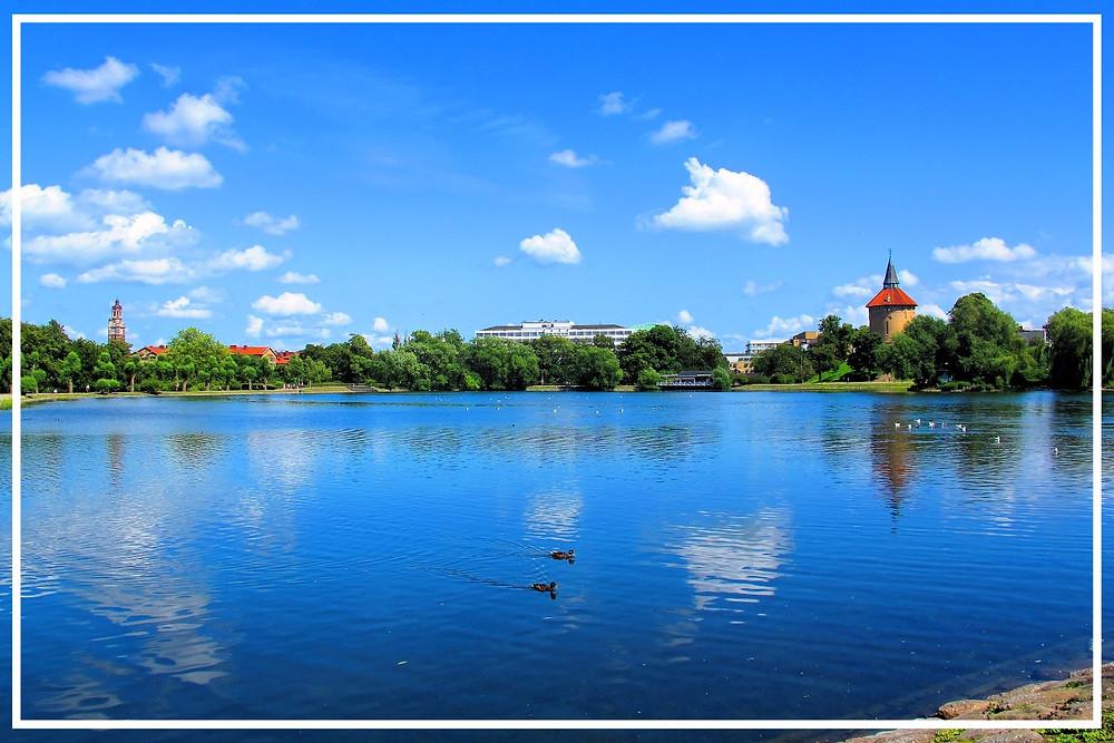 Malmö park view: Photo by arniii on Pixabay