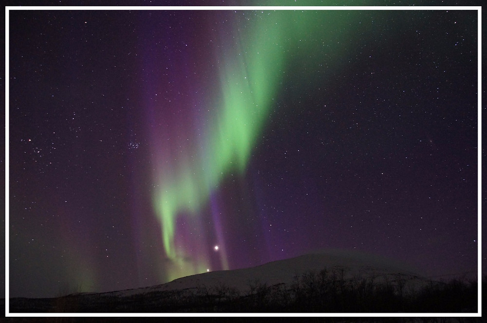 The Northern Lights in Kiruna: photo by Martin Str on Pixabay