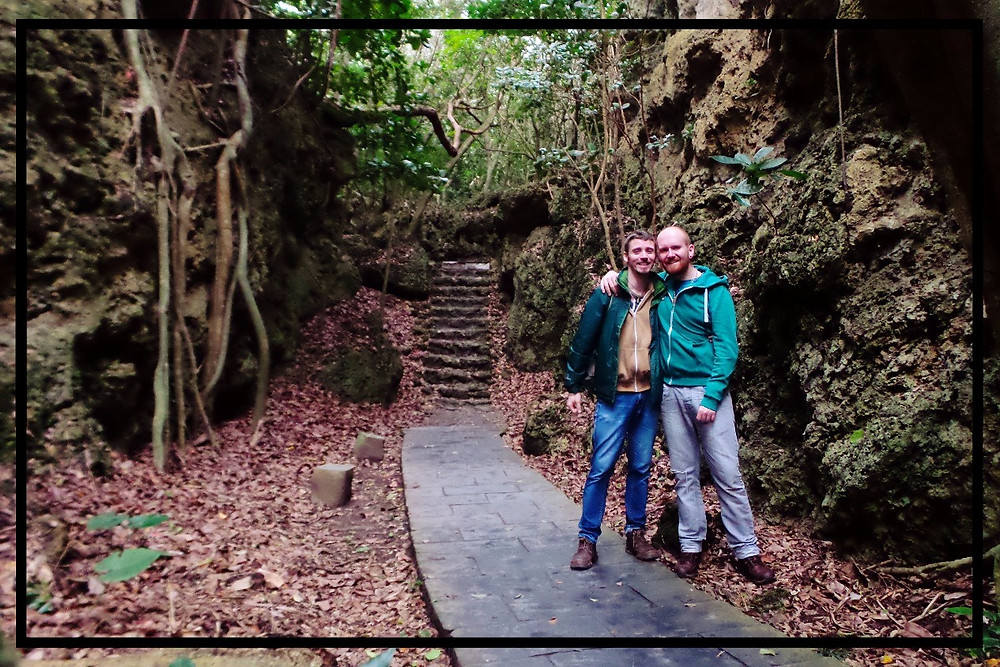 Mark and Nate in Kenting National Park