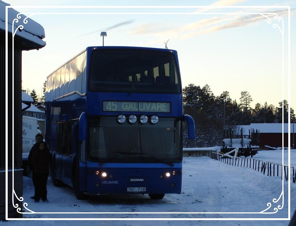The bus to Kiruna