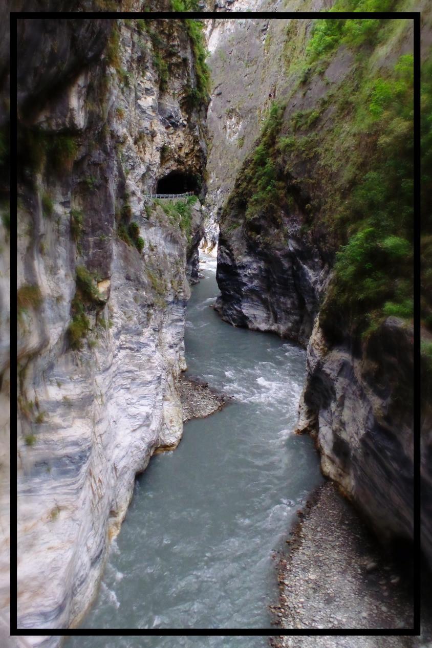 River rapids at Taroko Gorge