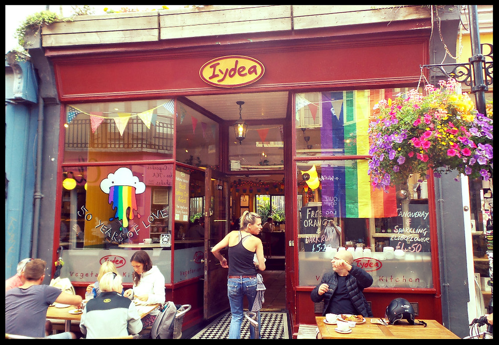 Iydea cafe, North Laines, Brighton