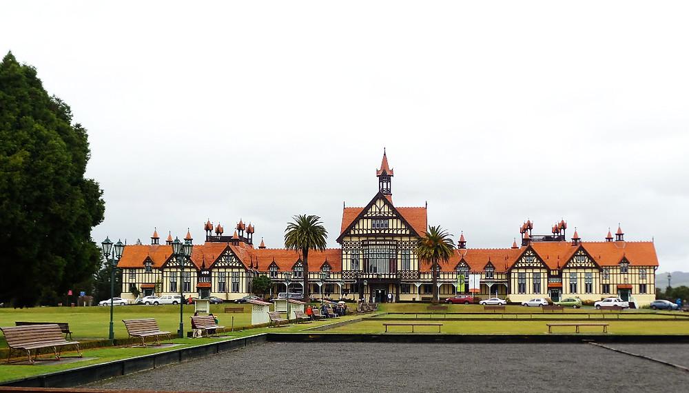 The Blue Baths at Rotorua