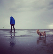 Walking Maizie in all weathers