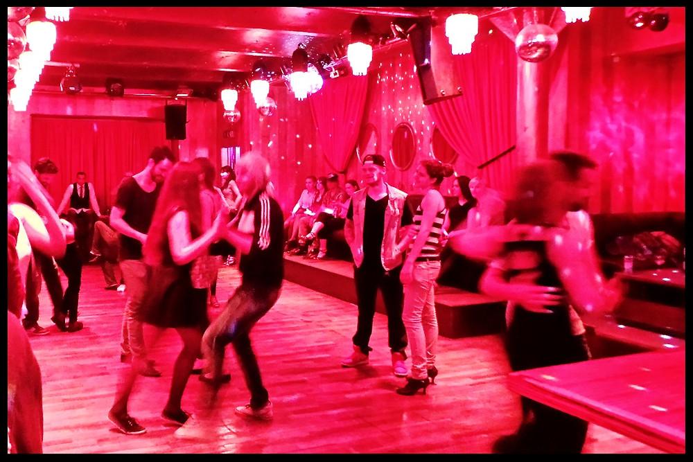 Inside a Berlin nightclub