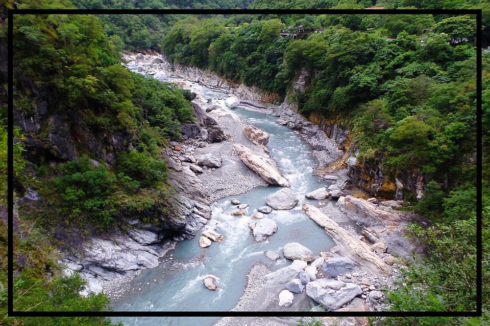 The river at Taroko Gorge