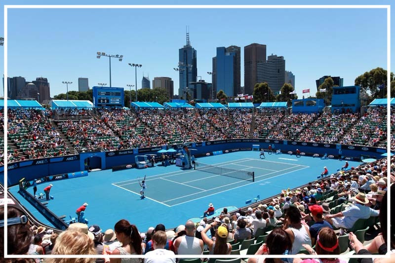 Australian tennis Open. Photo sourced from https://whatsonblog.melbourne.vic.gov.au/tennis-fever-the-australian-open-2014-is-here/