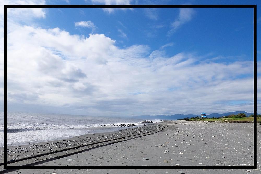 The beach at Taitung