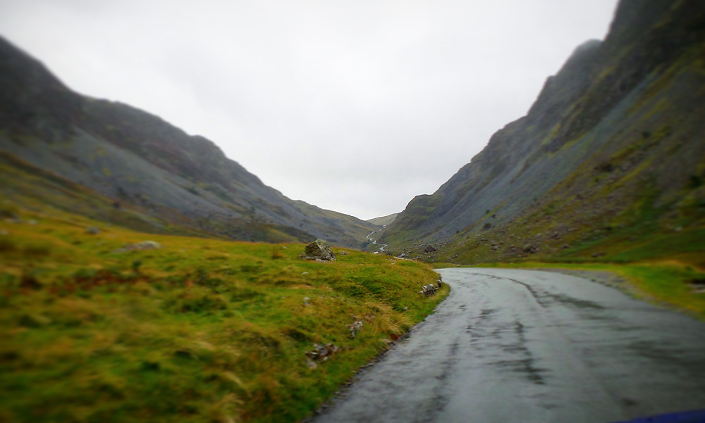 Lake District scenery: Honiston Pass