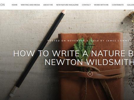 How to write a nature blog