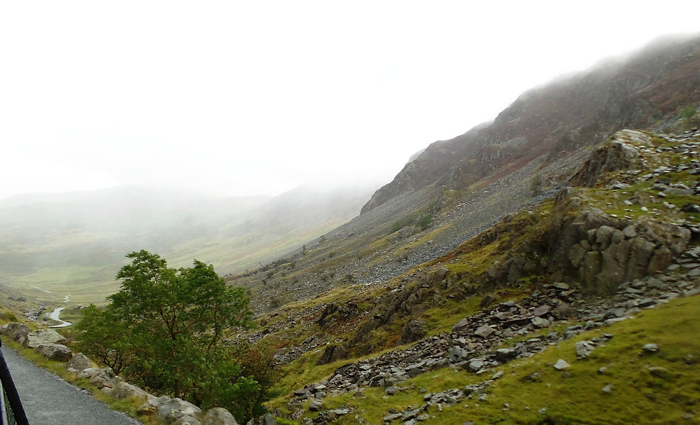 Lake District scenery: Honiston Pass