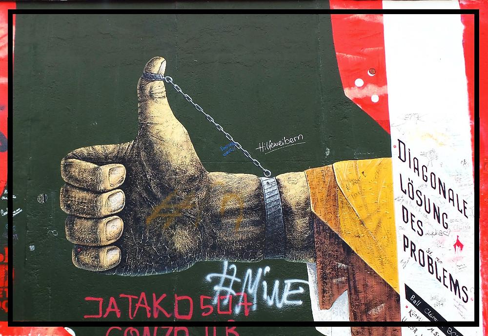 Graffiti at the Berlin Wall, Germany