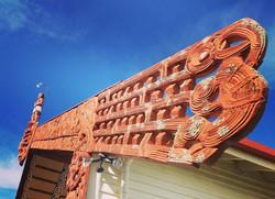 A Maori marai in Wairoa NZ