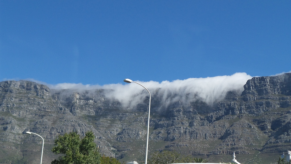 The Tablecloth of Table Mountain