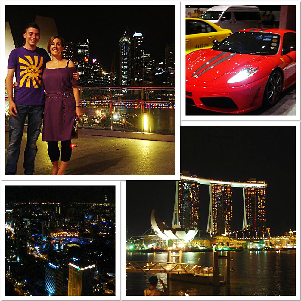 Views around Marina Bay Sands