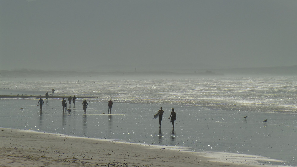 Muizenberg beach, surfers haven