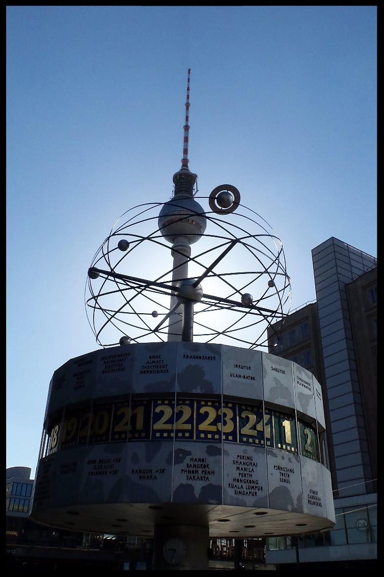 World Clock and TV Tower, Berlin