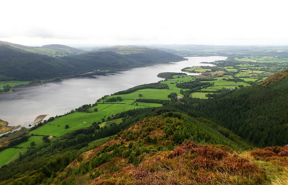 A view of Bassenthwaite in the Lakes