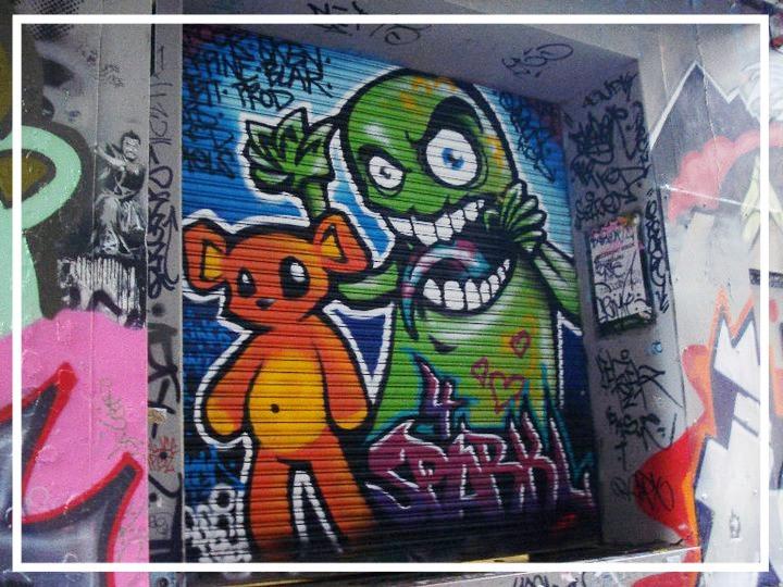 Graffiti in Melbourne