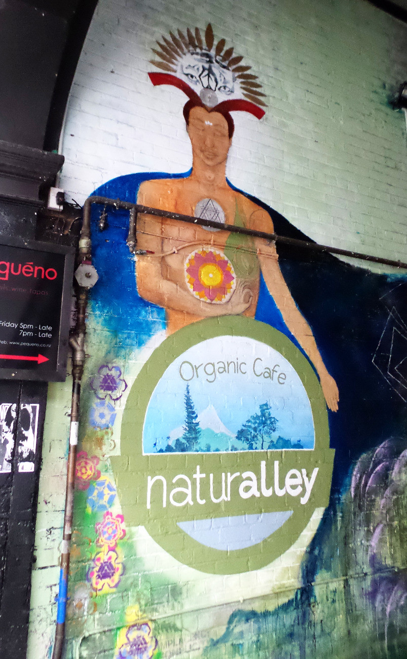 Wall art for Naturalley Organic Cafe