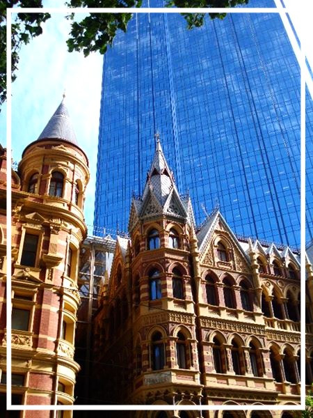 Architecture in Melbourne