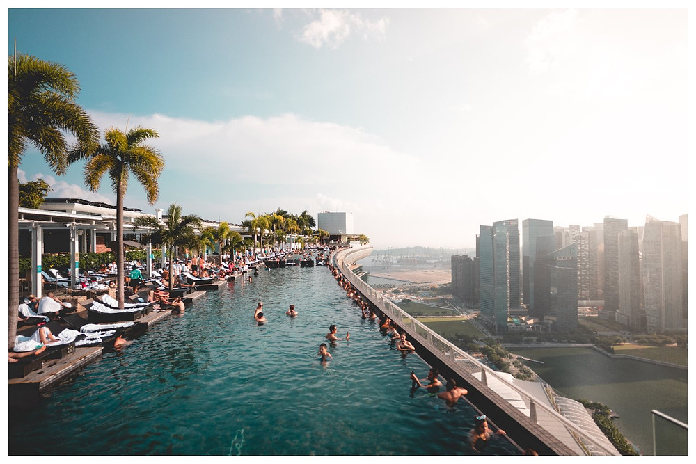 The Infinity Pool at Marina Bay Sands - photo courtesy of Will Truettner on Unsplash