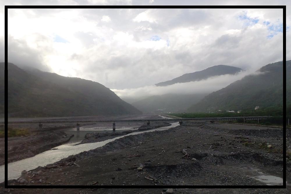 River crossing near Taitung, Taiwan