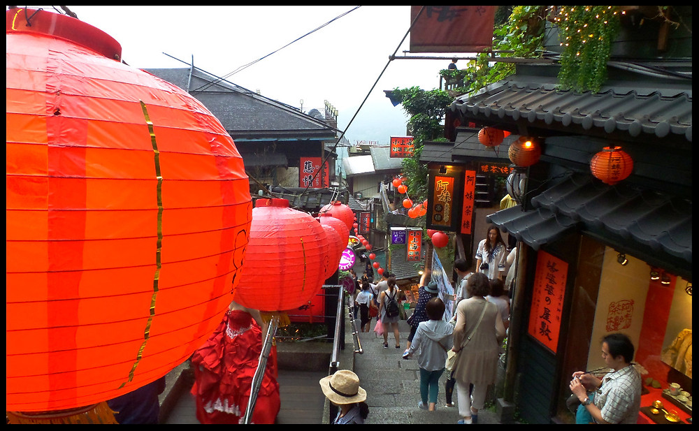 The streets of Jiufen