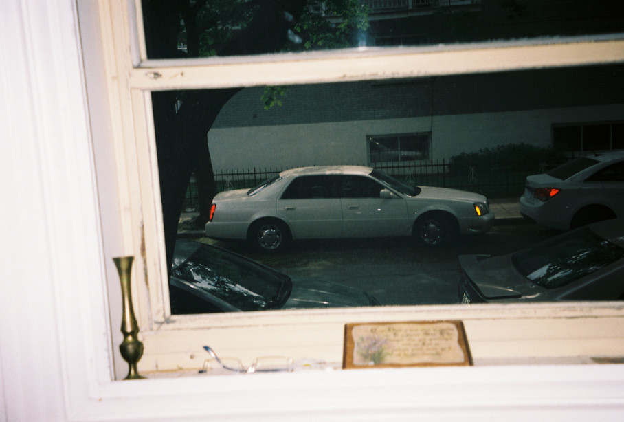One of dad's cadillacs