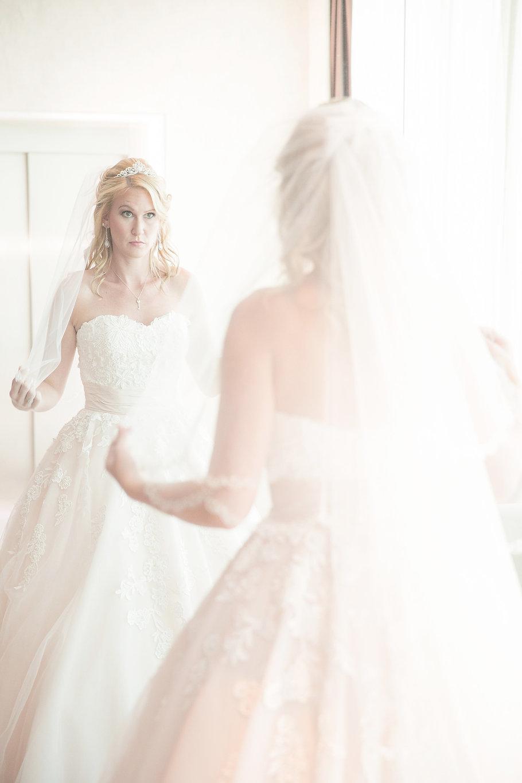 Bridal wedding prep